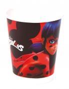 Ladybug™-Pappbecher 8 Stück schwarz-rot 220ml