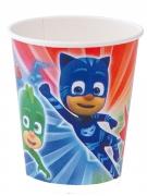 PJ Masks™-Trinkbecher Kindergeburtstag 8 Stück bunt 220ml