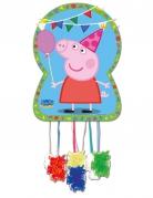 Peppa Wutz™-Piñata Partyaccessoire Kindergeburtstag bunt 46x65cm