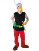 Asterix™-Lizenzkostüm Gallier-Kostüm schwarz-rot