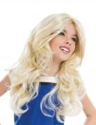 Falbala™-Mädchenperücke Lizenzartikel blond