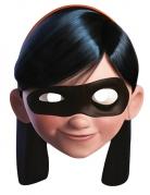 Violetta Parr-Maske Die Unglaublichen™-Lizenzartikel beige-schwarz