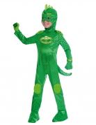 Gecko™-Kostüm für Kinder PJ Masks™ Karneval grün