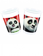 Kung Fu Panda 3™-Trinkbecher Tischdeko 8 Stück bunt 200ml