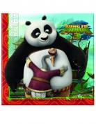 Kung Fu Panda 3™-Servietten Tischdeko 20 Stück bunt 33x33cm