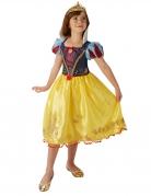 Schneewittchen™-Kostüm für Mädchen Märchenkostüm gelb-blau