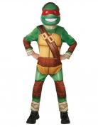Ninja Turtles™-Kostüm für Kinder Karneval grün-braun
