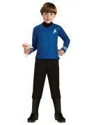 Mr. Spock-Deluxekostüm für Kinder Star Trek™ Fasching schwarz-blau