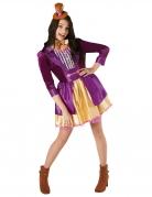 Willy Wonka™-Damenkostüm bunt