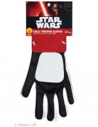Stormtrooper™-Handschuhe für Kinder Star Wars™ Accessoire schwarz-weiss