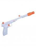 Leia™-Pistole Star Wars™ Waffe Accessoire weiss-orange 37x19,5x13cm
