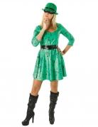 The Riddler™-Kostüm aus Batman™für Damen schwarz-grün
