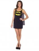 Batgirl™-Kostüm für Damen Fasching schwarz-gelb