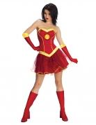 Iron Girl™-Damenkostüm Marvel™ rot-gelb