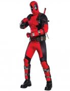 Deadpool™-Lizenzkostüm für Erwachsene schwarz-rot
