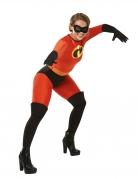 Miss Indestructible™-Lizenzkostüm für Erwachsene rot-schwarz-gelb