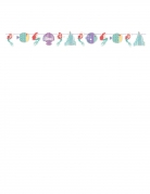 Disney™ Arielle-Girlande Raumdeko bunt 108x18 cm