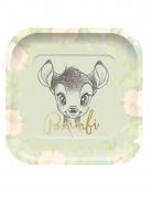 Bambi™-Papptellerset 4 Stück bunt 24 x 24 cm