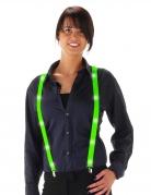 LED-Hosenträger Accessoire neon-grün