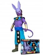 Beerus™-Kostüm für Kinder Dragon Ball™ im Geschenkkoffer lila-lau-gold