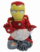 Mini-Bonbonhalter Iron Man™ Deko rot-gelb 38cm
