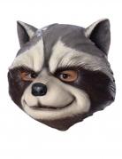 Rocket Raccoon™-Maske Avengers Infinity War™ Kostüm-Accessoire grau-weiss