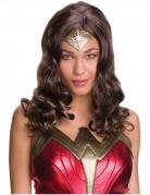 Wonder Woman™ Damen-Lizenzperücke braun