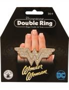 Wonder Woman™-Doppelring für Damen Accessoire gold