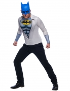 Batman™-Kostüm für Herren Faschingskostüm grau-weiss-blau