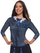 Ravenclaw™-T-Shirt Harry Potter™ grau-blau-silber