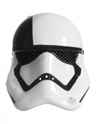 Exekutionstruppler Halbmaske für Erwachsene Star Wars The Last Jedi™ schwarz-weiss