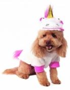 Einhorn-Hundekostüm Ich - Einfach unverbesserlich™ weiss-pink