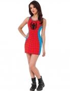 Spidergirl™-Damenkleid Marvel™ rot-blau-schwarz