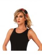Spider Girl™ Haarband für Damen schwarz-rot
