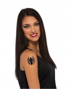 Spidergirl™-Tattoo Make-up schwarz