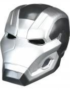 War Machine™-Maske zweiteilig Captain America Civil War™ grau