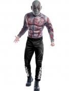 Drax-Kostüm Guardians of the Galaxy™ Faschingskostüm grau-rot-schwarz