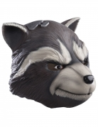 Rocket Racoon™-Maske lizenziert grau-weiss-schwarz