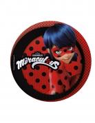 Ladybug™-Pappteller Dekoration 8 Stück rot-schwarz 19cm