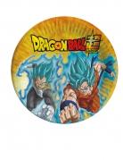 Dragon Ball Super™ Pappteller 8 Stück bunt 23 cm