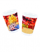 Gogeta-Trinkbecher Dragon Ball Z™ Tischdeko 8 Stück bunt 200ml