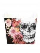 Skelett-Behälter Halloween-Tischdekoration 6 Stück bunt 400ml