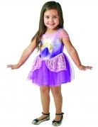 Rapunzel™-Kostüm für Mädchen Disney™-Ballerina violett-weiss