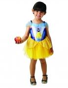 Schneewittchen™-Kostüm für Mädchen Disney™-Ballerina gelb-blau
