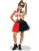 Harley Quinn™-Kostüm für Mädchen DC Super Hero Girls™ schwarz-rot-weiss
