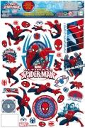 Spiderman™-Fenstersticker Deko bunt 30x20cm