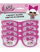 LOL Surprise™-Brillen 4 Stück rosa