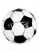 Fussball-Pinata schwarz-weiss 30cm