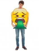 Brech-Emoji™ Faschingskostüm gelb-grün