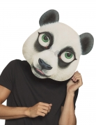 Riesige Panda-Maske Tiermaske für Erwachsene schwarz-weiss